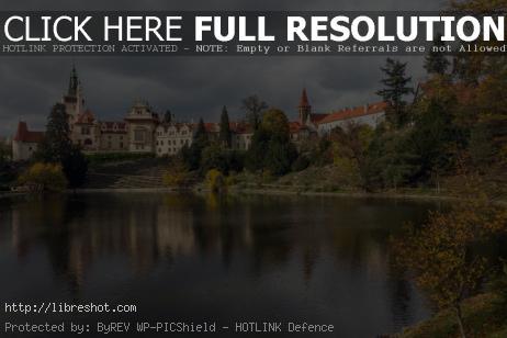 Free image of Průhonice castle