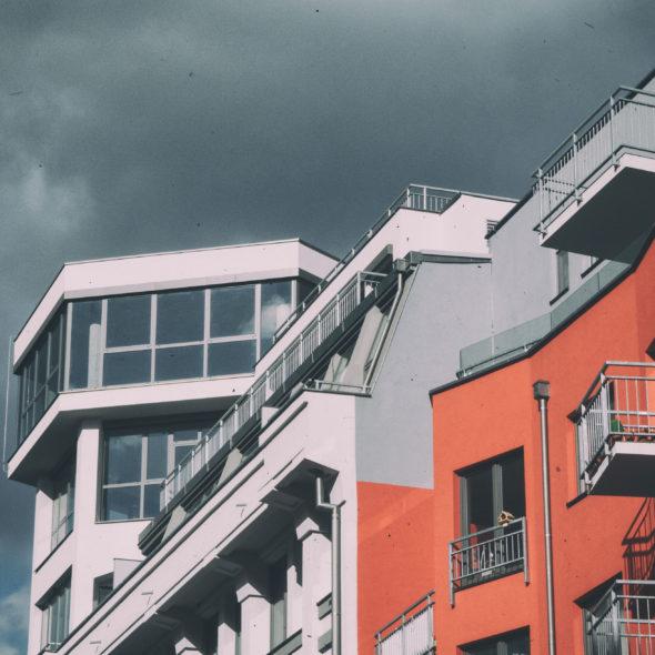 Modern loft building