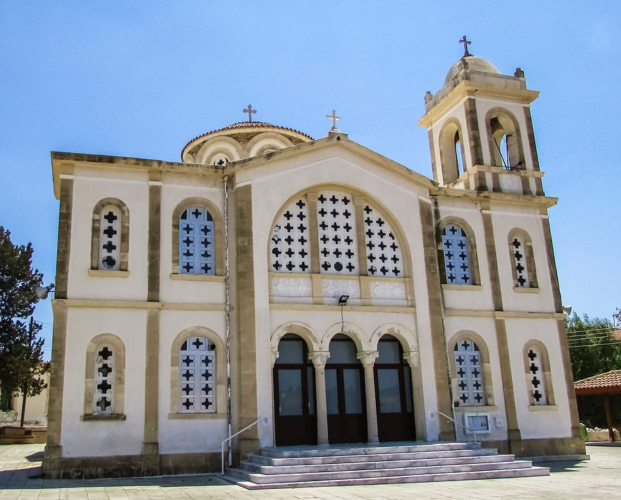 cyprus, alethriko, church