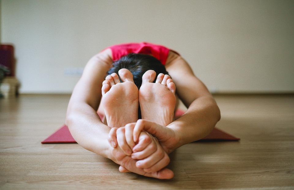 yoga, legs, girl