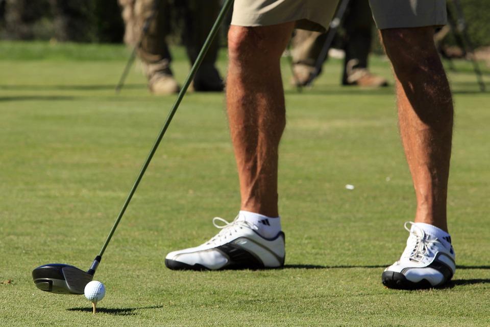golf, tee, course