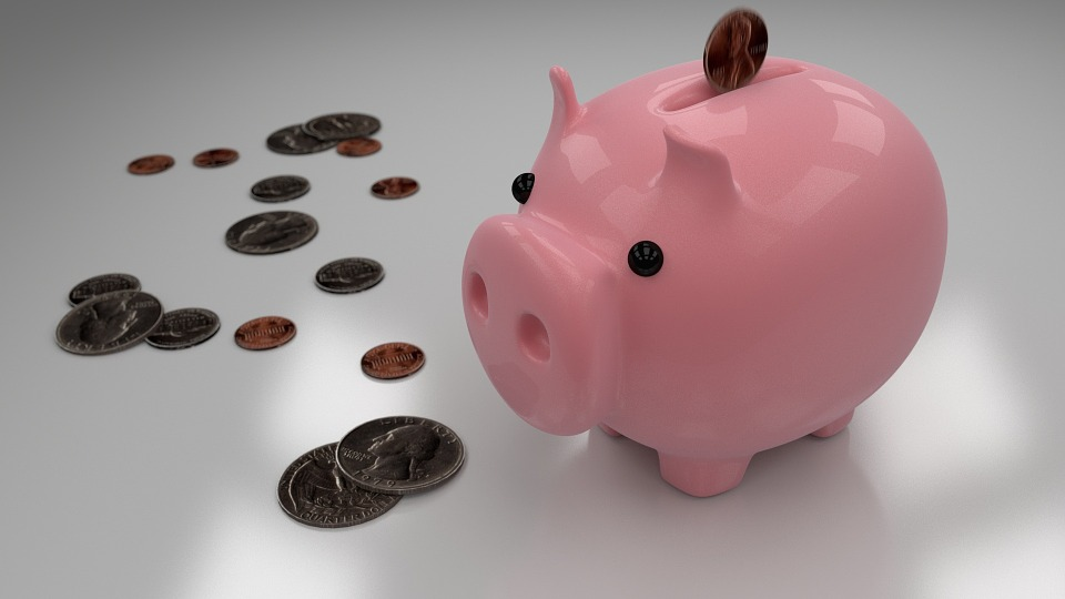 piggy bank, savings, money