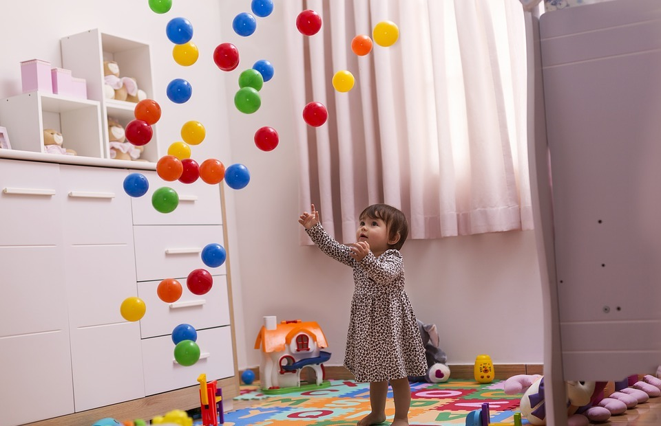 child, balls, toys