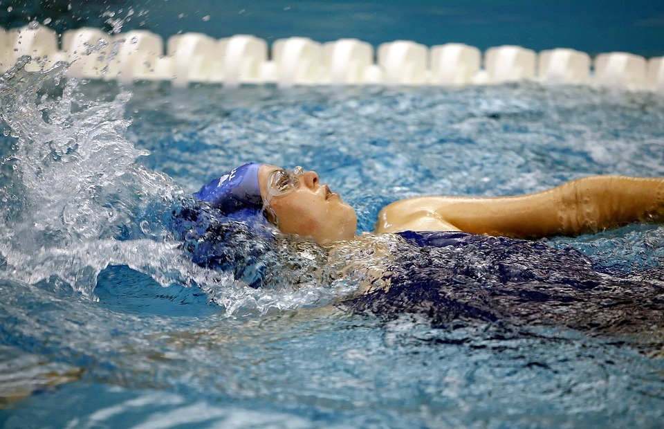 swimming, sport, swimmer