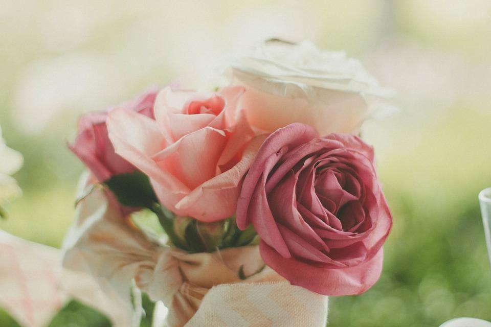 roses, bouquet, flowers
