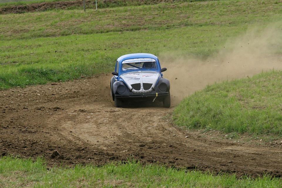 autocross, motorsport, vw