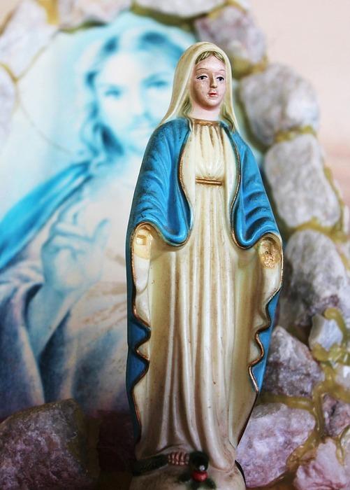 mother mary, jesus, catholic