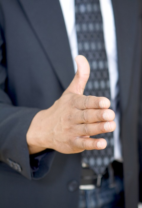 hand, business, gesture