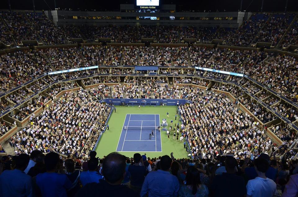 stadium, tennis court, tennis