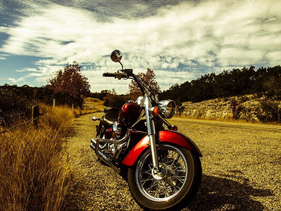 motorcycle, road, motorbike