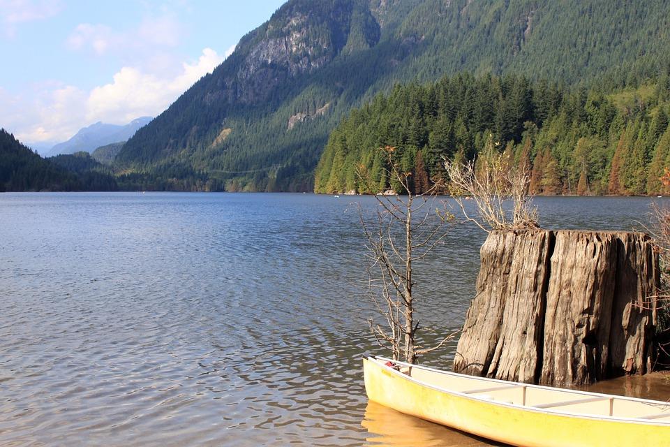 boat, kayak, lake