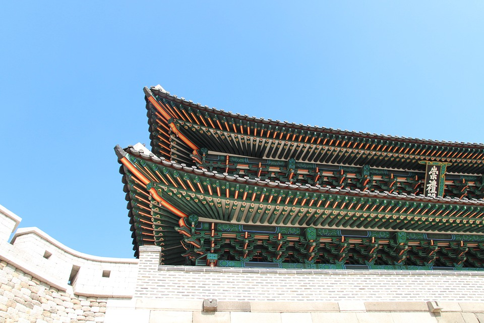 korea, seoul, seoul\'s namdaemun gate