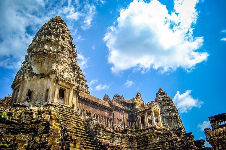 building, architecture, cambodia