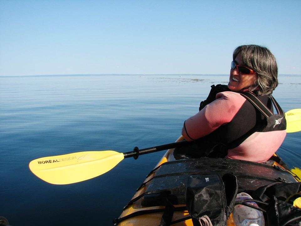 kayak, kayaking, tadoussac