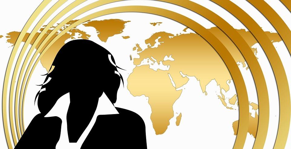executive, businesswoman, international