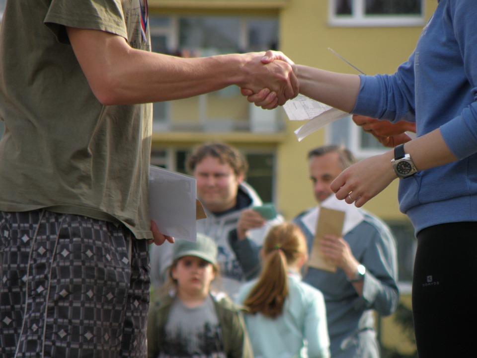 handshakes, congratulations, hands