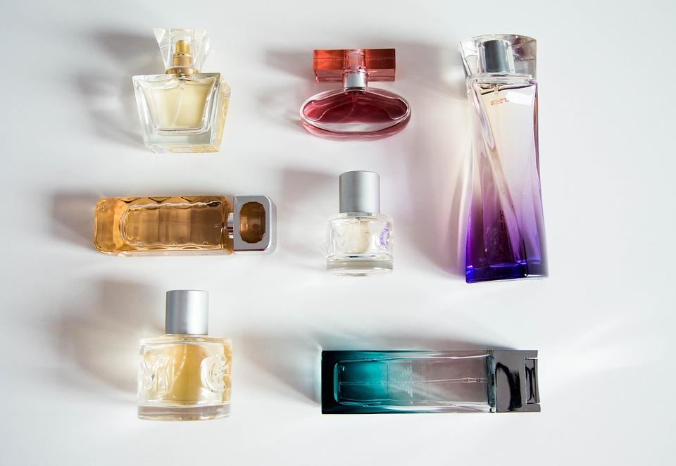 perfume bottle, senses, bottle
