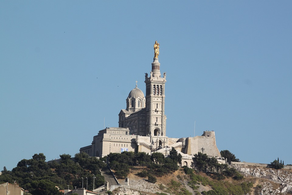 marseille, the good mother, france