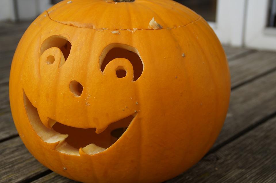 pumpkin, pumpkin face, halloween