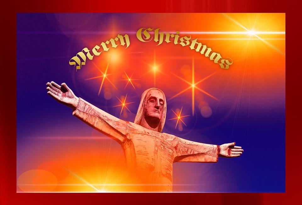 jesus, statue, christmas