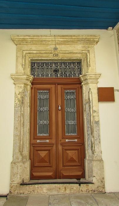 door, house, entrance