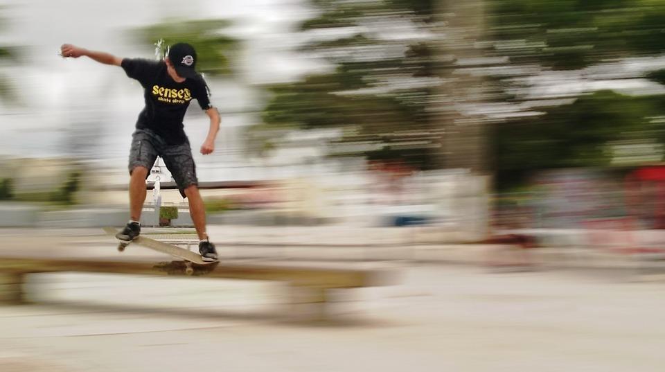 skateboard, skater, sport