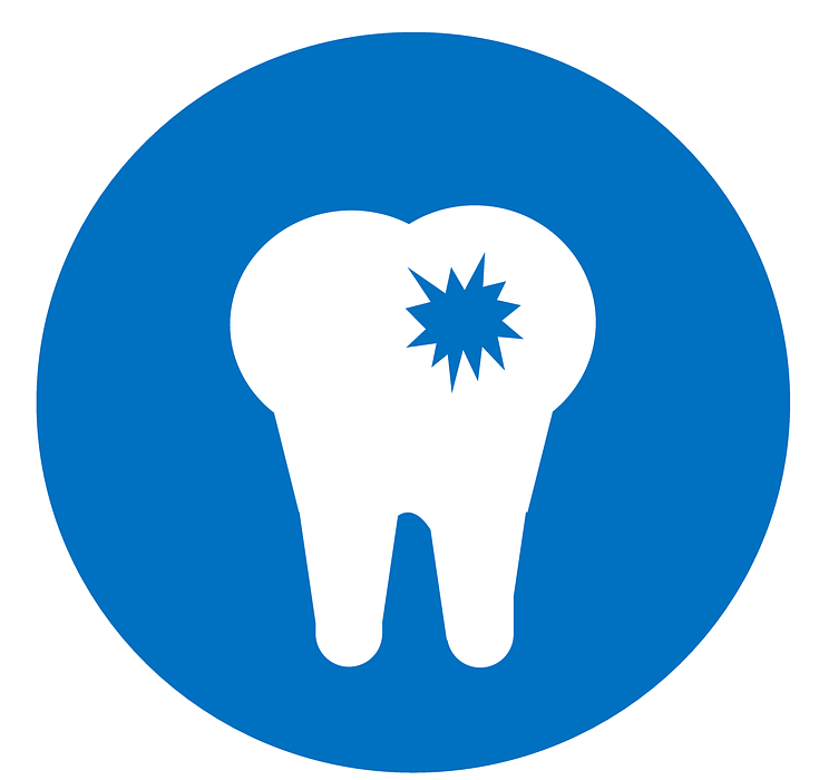 dentist, icon, cavity