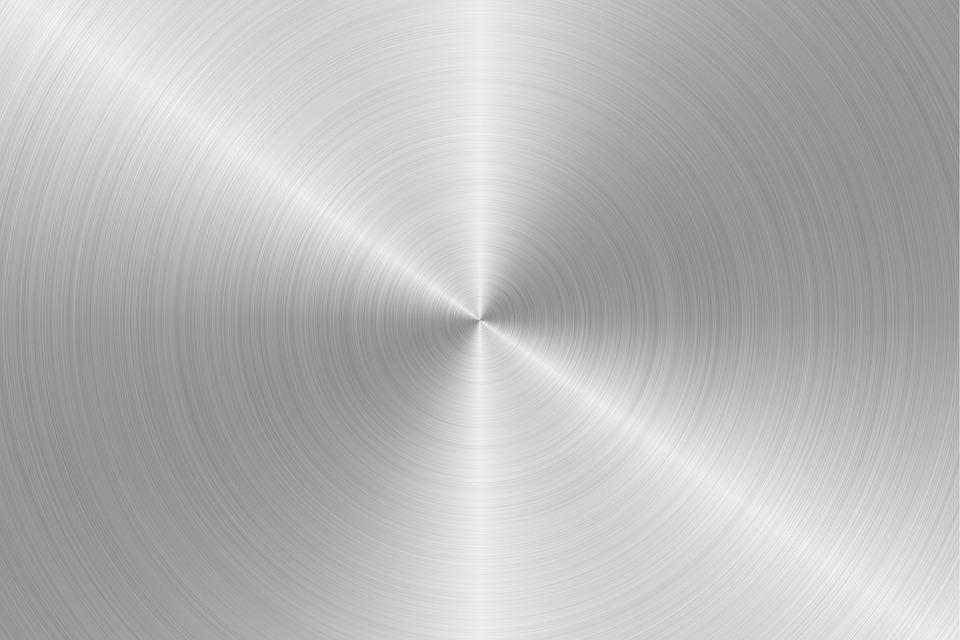 circular, plates, metal