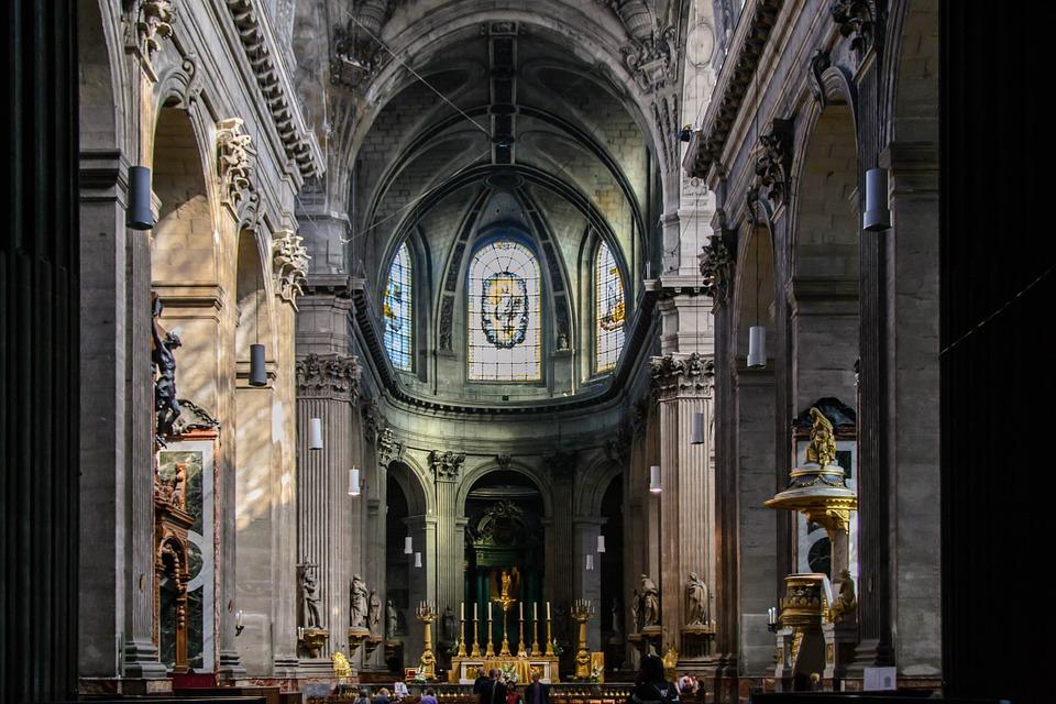 church, nave, roman catholic