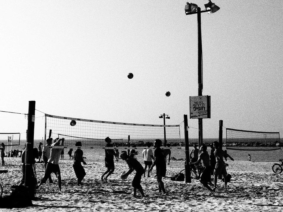 volleyball, beach volley, beach