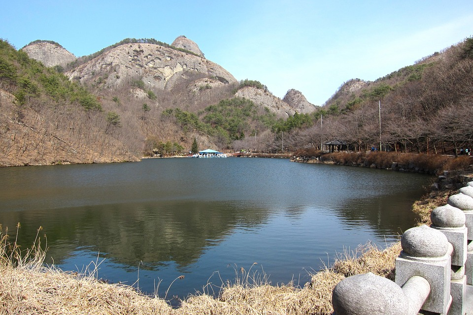 korea, mountain, scenery