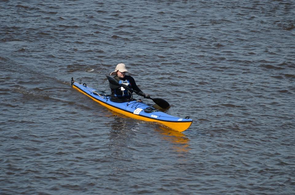 kayak, rafting, canoe