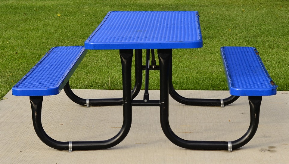 picnic, table, graphic