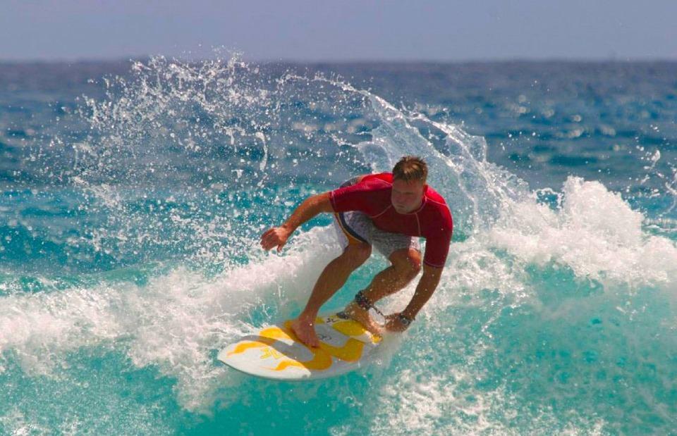 surfer, surfboard, surfing