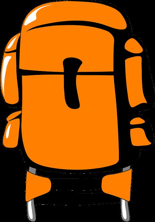 backpack, hiking, bag