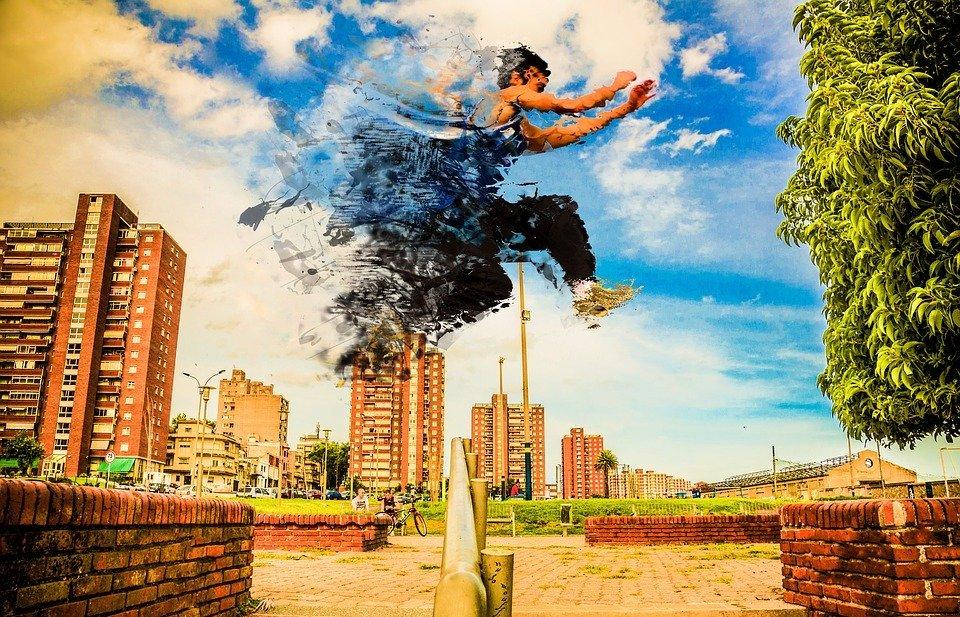 disintegration, parkour, urban