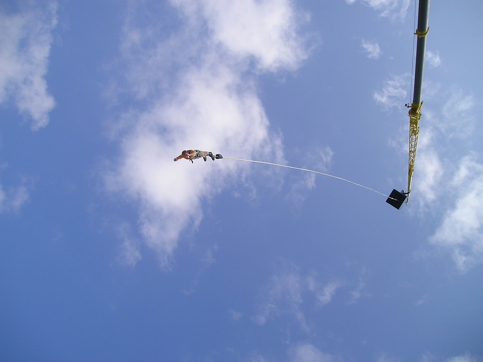 bungy, bungee, extreme sports