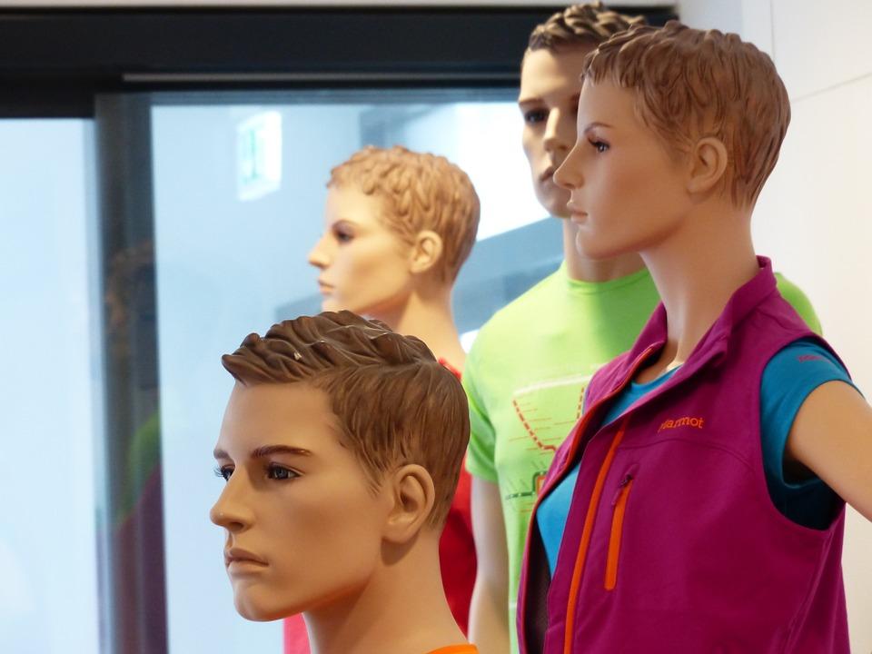 faces, human, mannequins