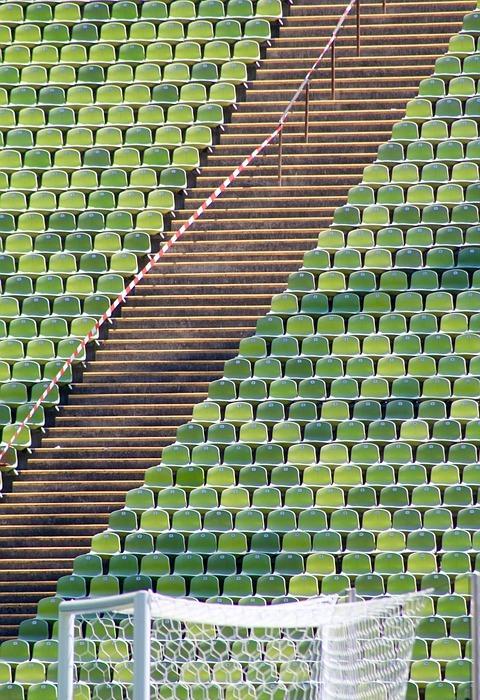 stadium, goal, football