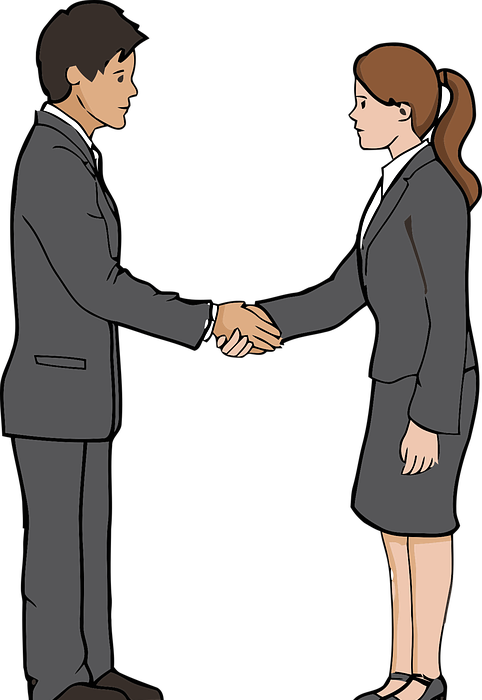 handshake, agreement, business