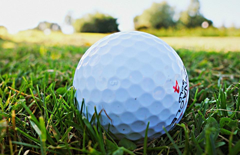 golf ball, golf, golfing