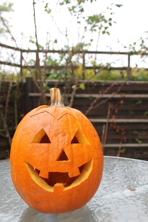 pumpkin, carving, halloween