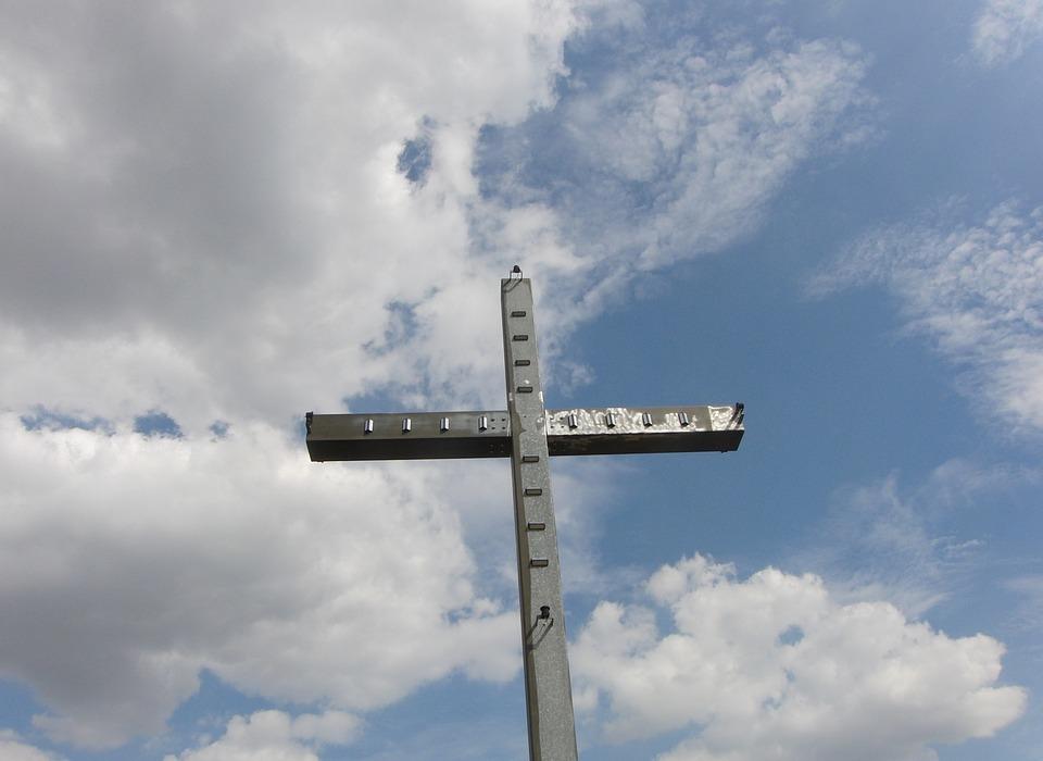 cross, sky, summit cross