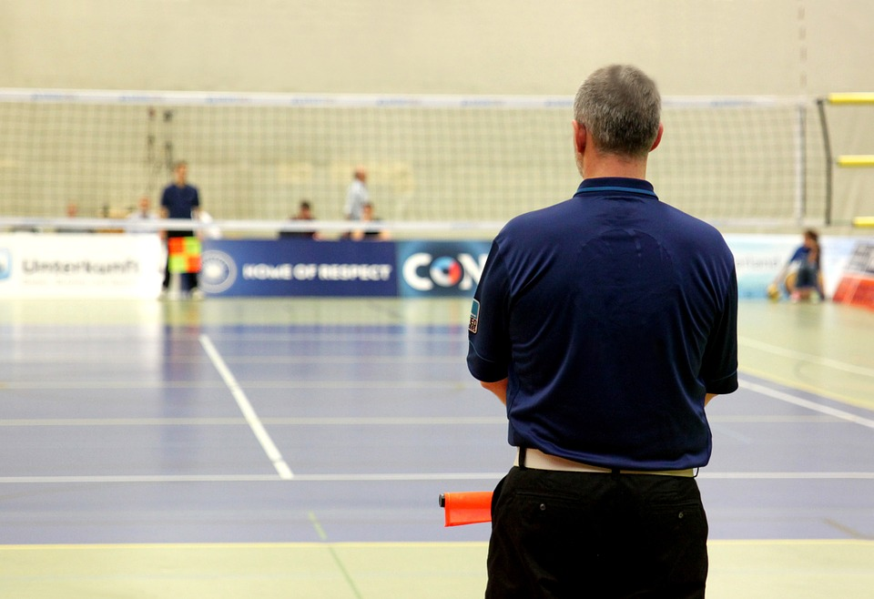 volleyball, sport, referee