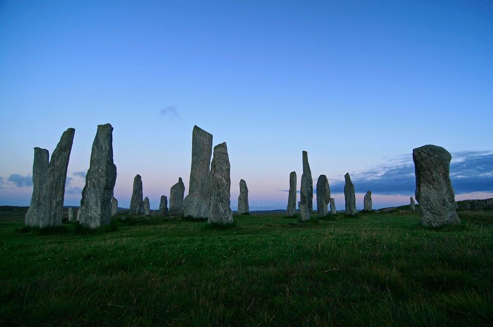 stone, circle, monument