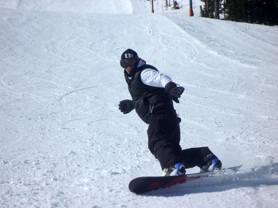 snowboarders, snowboard, winter