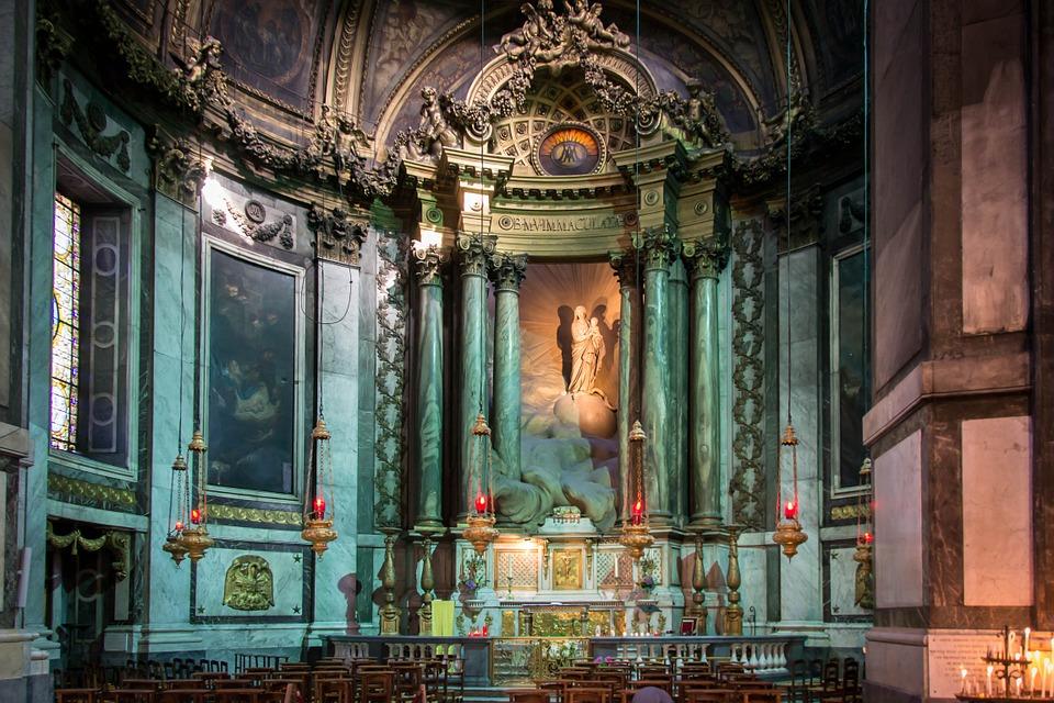 church, chapel, roman catholic
