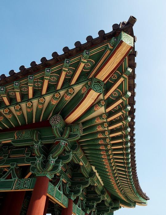 korea, south korea, temple