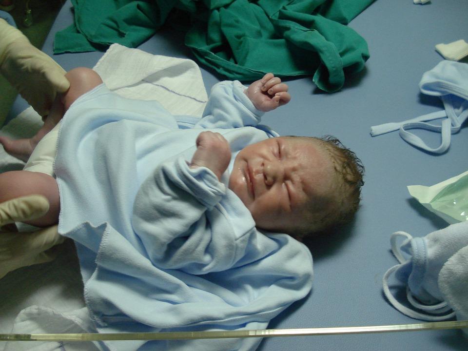 new born, hospital, baby