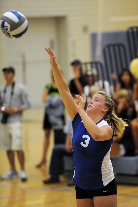 volleyball, women, return